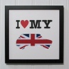 I Love My Mini Union Jack