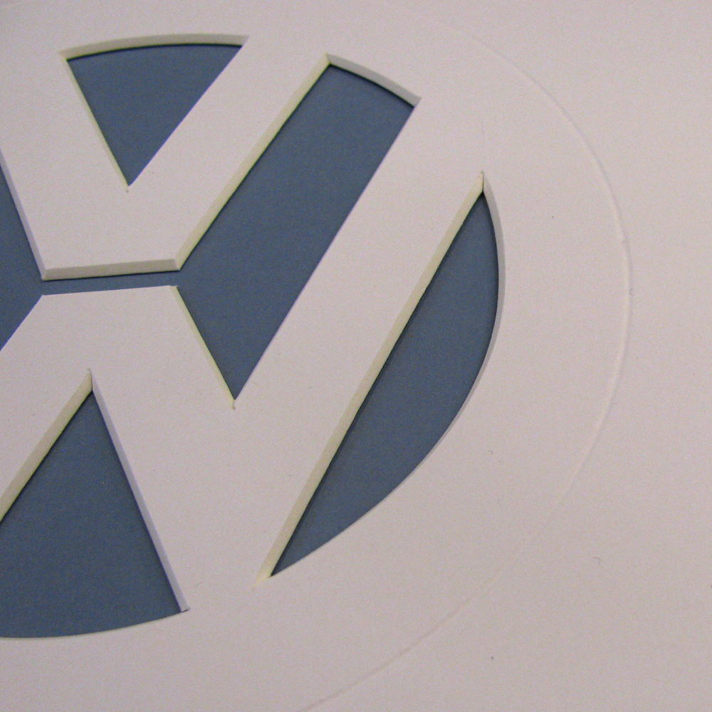 VW Bage detail
