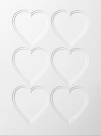 30x40x6 Double Heart Shaped Mount