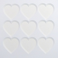 40x40x9 Double Heart Shaped Mount