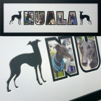 Dog Name Picture Frames