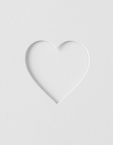 10x12 Single Heart Shaped Mount