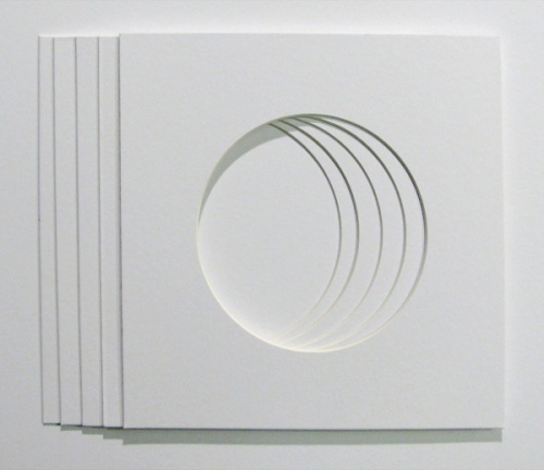 Packs 5 or 10 Circle mounts to fit IKEA 23x23cm picture Frames